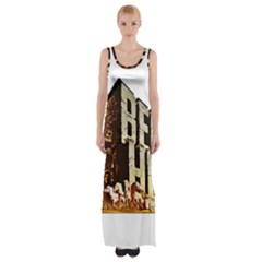Ben Hur Maxi Thigh Split Dress
