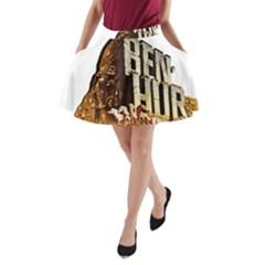 Ben Hur A-Line Pocket Skirt