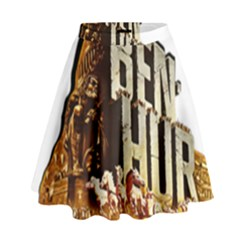 Ben Hur High Waist Skirt