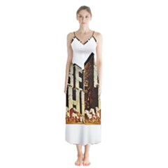 Ben Hur Chiffon Maxi Dress