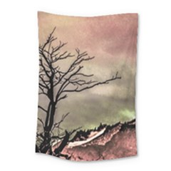 Fantasy Landscape Illustration Small Tapestry