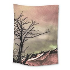 Fantasy Landscape Illustration Medium Tapestry