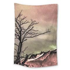 Fantasy Landscape Illustration Large Tapestry
