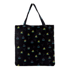 Cactus pattern Grocery Tote Bag