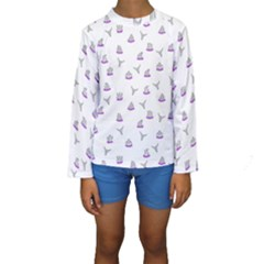 Cactus pattern Kids  Long Sleeve Swimwear