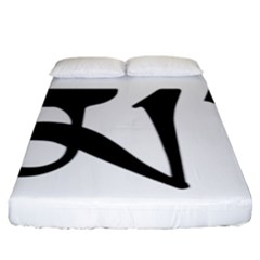 Thimphu  Fitted Sheet (King Size)