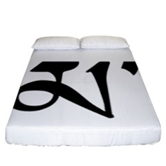 Thimphu  Fitted Sheet (California King Size)