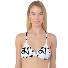 Thimphu  Reversible Tri Bikini Top