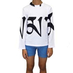 Thimphu Kids  Long Sleeve Swimwear