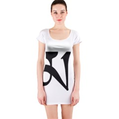 Thimphu Short Sleeve Bodycon Dress