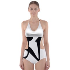 Thimphu Cut-Out One Piece Swimsuit