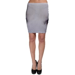 Akita Inu White Eyes Bodycon Skirt