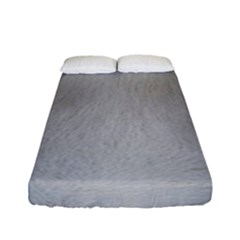 Akita Inu White Eyes Fitted Sheet (Full/ Double Size)