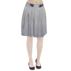 Akita Inu White Eyes Pleated Skirt
