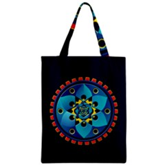 Abstract Mechanical Object Zipper Classic Tote Bag