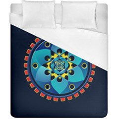 Abstract Mechanical Object Duvet Cover (california King Size)