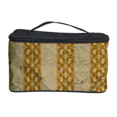 Wall Paper Old Line Vertical Cosmetic Storage Case