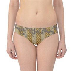 Wall Paper Old Line Vertical Hipster Bikini Bottoms