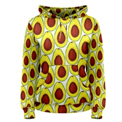 Avocados Seeds Yellow Brown Greeen Women s Pullover Hoodie