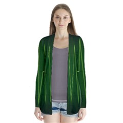 Heart Rate Green Line Light Healty Cardigans