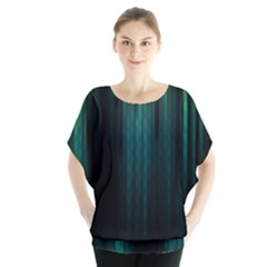 Lines Light Shadow Vertical Aurora Blouse
