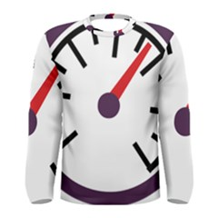 Maker Measurer Hours Time Speedometer Men s Long Sleeve Tee