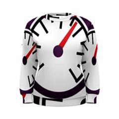 Maker Measurer Hours Time Speedometer Women s Sweatshirt