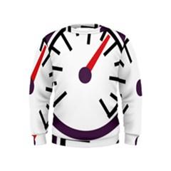 Maker Measurer Hours Time Speedometer Kids  Sweatshirt