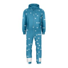 Peta Anggota City Blue Eropa Hooded Jumpsuit (Kids)