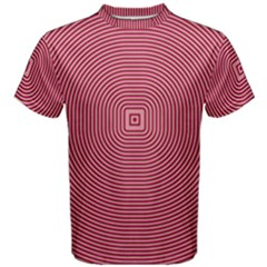 Stop Already Hipnotic Red Circle Men s Cotton Tee
