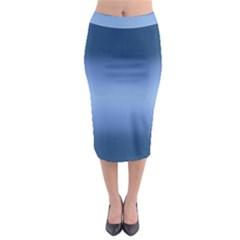 Decorative pattern Midi Pencil Skirt