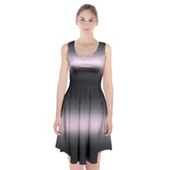 Decorative pattern Racerback Midi Dress