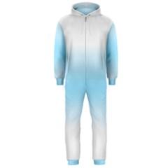 Decorative pattern Hooded Jumpsuit (Men)