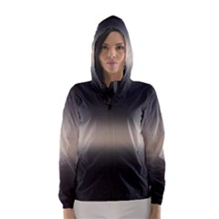Decorative pattern Hooded Wind Breaker (Women)