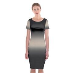 Decorative pattern Classic Short Sleeve Midi Dress