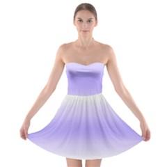 Decorative pattern Strapless Bra Top Dress