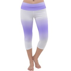 Decorative pattern Capri Yoga Leggings