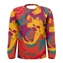 Abstract art Men s Long Sleeve Tee
