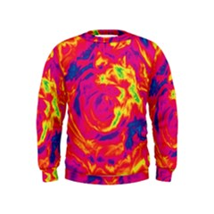 Abstract art Kids  Sweatshirt