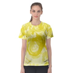 Abstract art Women s Sport Mesh Tee