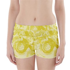 Abstract art Boyleg Bikini Wrap Bottoms