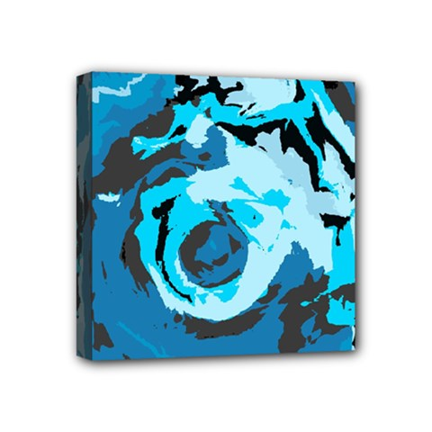 Abstract art Mini Canvas 4  x 4