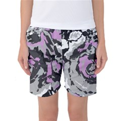 Abstract art Women s Basketball Shorts