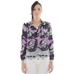 Abstract art Wind Breaker (Women)