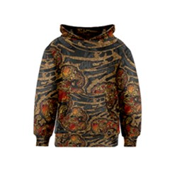 Unique Abstract Mix 1a Kids  Pullover Hoodie