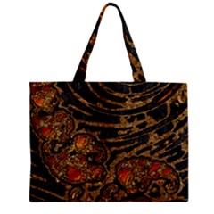 Unique Abstract Mix 1a Zipper Mini Tote Bag