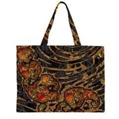 Unique Abstract Mix 1a Large Tote Bag