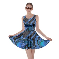 Unique Abstract Mix 1b Skater Dress