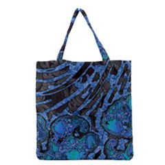 Unique Abstract Mix 1b Grocery Tote Bag