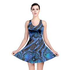 Unique Abstract Mix 1b Reversible Skater Dress